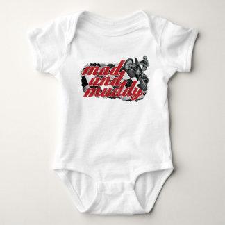 Bici de la suciedad mameluco de bebé