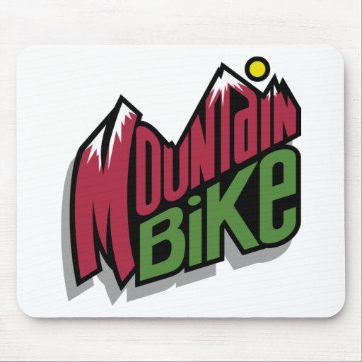 Bici de montaña alfombrilla de raton