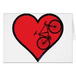 bici de montaña felicitación