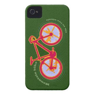 bici de montaña iPhone 4 funda