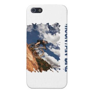 Bici de montaña iPhone 5 carcasas