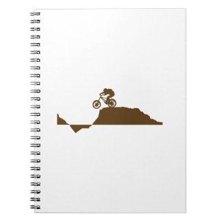 Bici de montaña libros de apuntes