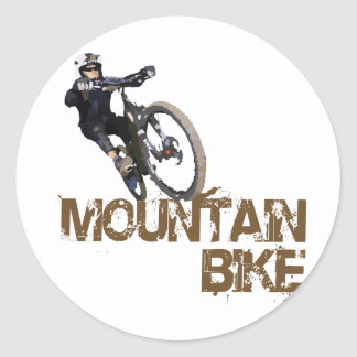Bici de montaña pegatina