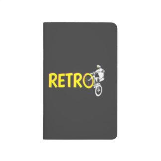 Bici de montaña retra cuadernos