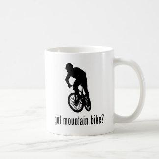 Bici de montaña taza básica blanca