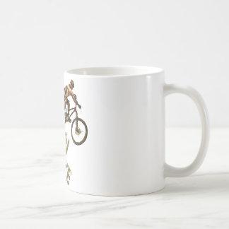Bici de montaña taza de café