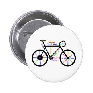Bici de motivación, ciclo, Biking, palabras del de Pins
