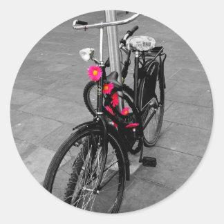Bici de Oxford Etiqueta Redonda