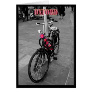 Bici de Oxford Felicitaciones