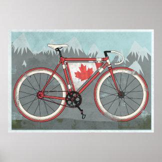Bici del amor amor Canadá Impresiones