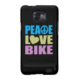 Bici del amor de la paz galaxy s2 fundas