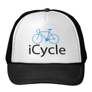 bici del azul del iCycle Gorro De Camionero