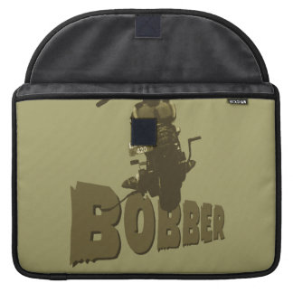 Bici del Bobber Fundas Para Macbooks