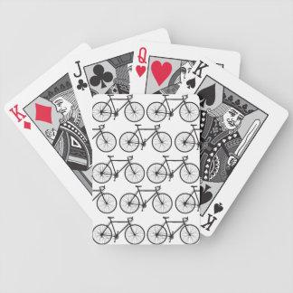 Bici del camino barajas de cartas