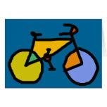 bici del color felicitación