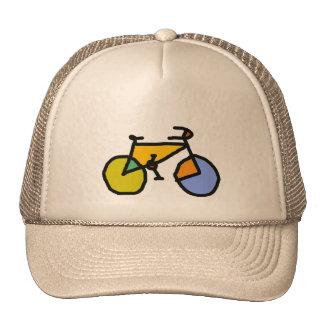 bici del color gorra