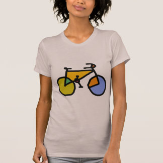 bici del color camiseta