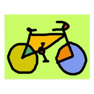 bici del color tarjeta postal
