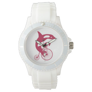 Bici del comino del penique del montar a caballo relojes de pulsera