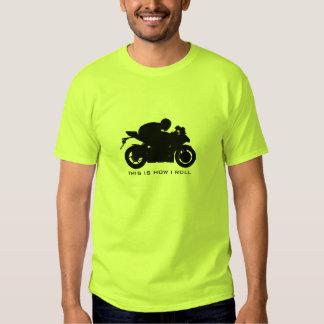 Bici del deporte/camiseta de la motocicleta playeras