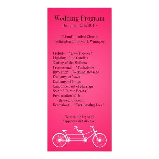 bici del doble de 25 del boda 4x9 rosas fuertes de lonas publicitarias