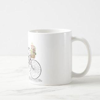 Bici del empuje de la fantasía taza de café