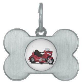 Bici del motor placas mascota