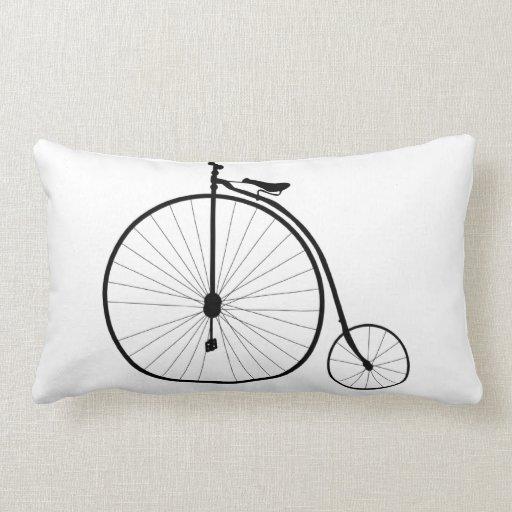 Bici del vintage almohadas