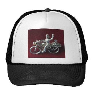 Bici del vintage gorras
