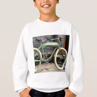 Bici del vintage sudadera