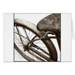 Bici del vintage tarjeta de felicitación