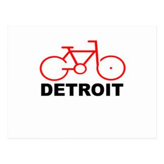 Bici Detroit T-Shirts.png Postales