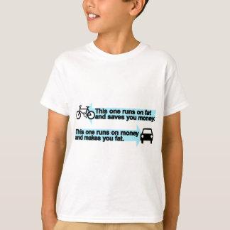 Bici divertida contra el coche playera