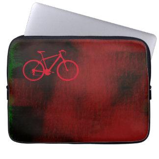 bici elegante del arte fresco funda ordendadores