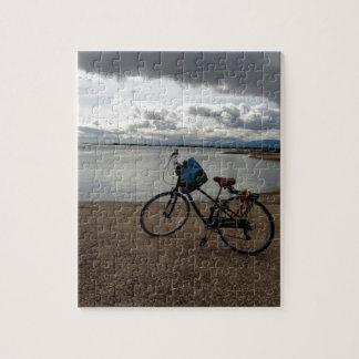 Bici en la playa rompecabeza