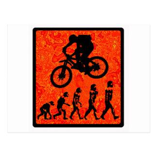 bici en la secoya tarjetas postales