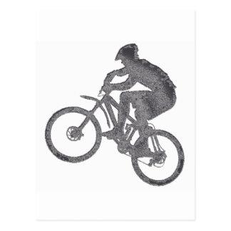 Bici en Silverton Tarjeta Postal