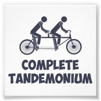 Bici en tándem Tandemonium completo Fotografías