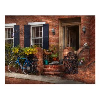 Bici - esperar un paseo tarjetas postales