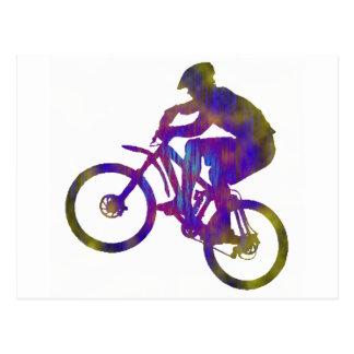 Bici establecida nuevamente postal