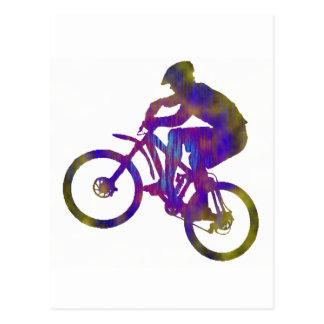 Bici establecida nuevamente tarjeta postal