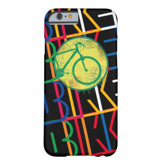 bici fresca y moderna estupenda/diseño biking funda barely there iPhone 6
