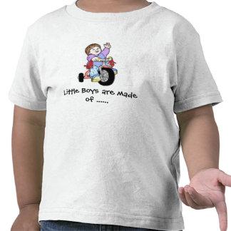 Bici - hacen los niños pequeños de la camis