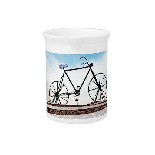 bici jarrones