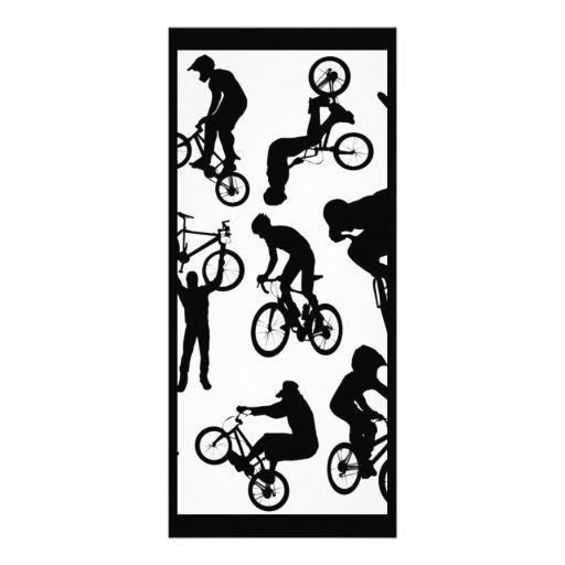 bici-jinetes plantillas de lonas