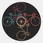 bici - modelo de ciclo etiquetas