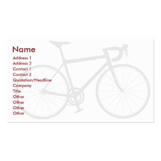 Bici - negocio plantillas de tarjetas de visita