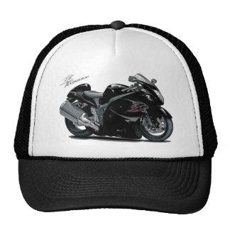 Bici negra de Hayabusa Gorros