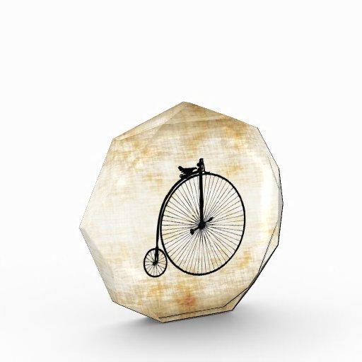 Bici negra del vintage del comino del penique