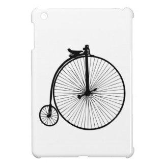 Bici negra del vintage del comino del penique iPad mini protector